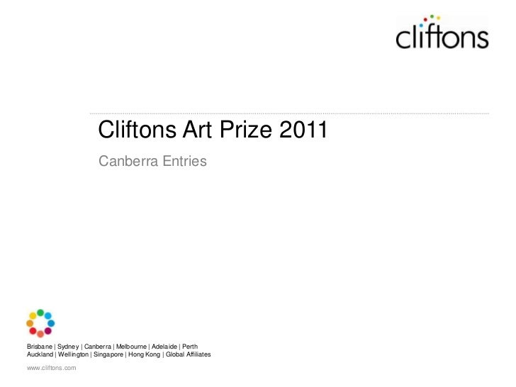 Cliftons Art Prize 2011<br />Canberra Entries<br />