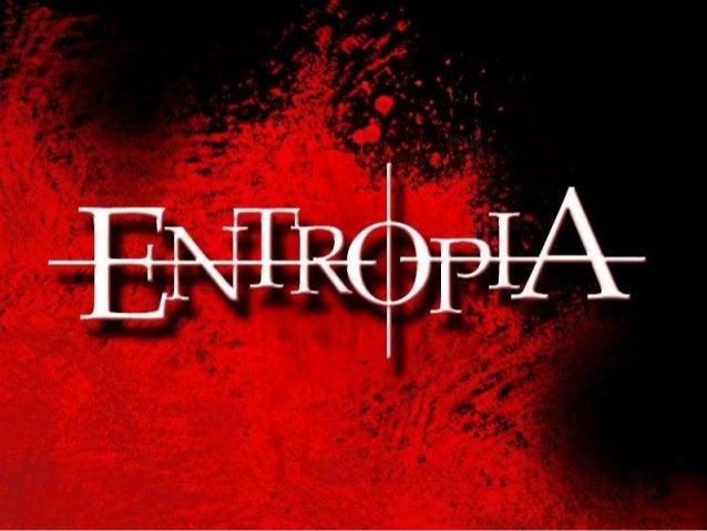ENTROPI A A entropia (S) é uma grandeza que mede o grau de desordem de um sistema.  Processo natural e espontâneo, no qual...