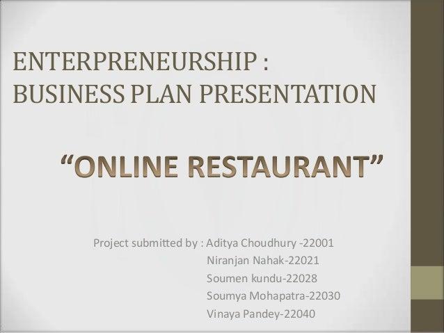franchise business plan sample