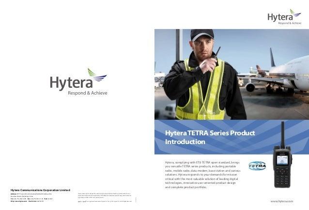 Hytera TETRA Series Product                                                                                               ...