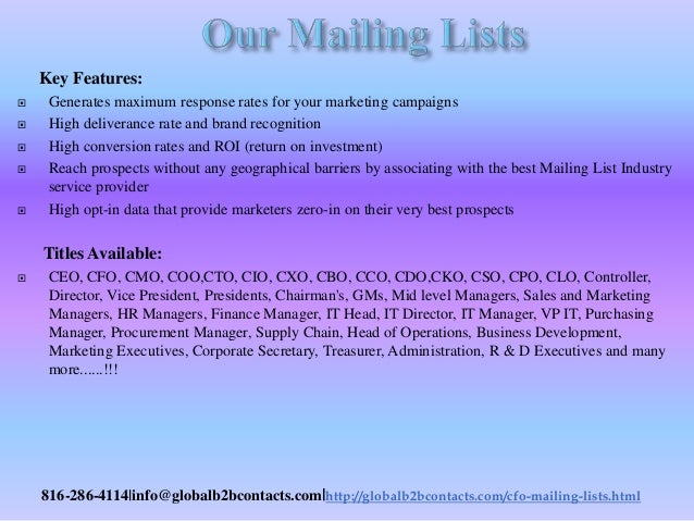 Ent specia lists email list helps you to promote the brand in the best attractive manner Slide 3