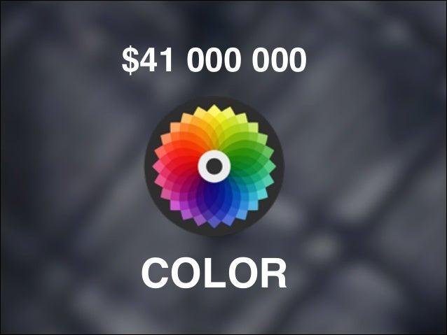 $41 000 000  COLOR