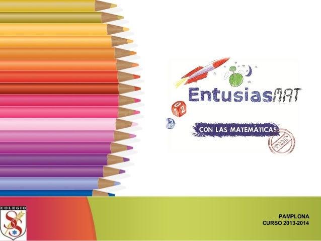 PAMPLONA CURSO 2013-2014