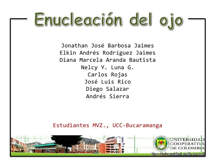 Jonathan José Barbosa Jaimes  Elkin Andrés Rodríguez Jaimes  Diana Marcela Aranda Bautista         Nelcy Y. Luna G.       ...