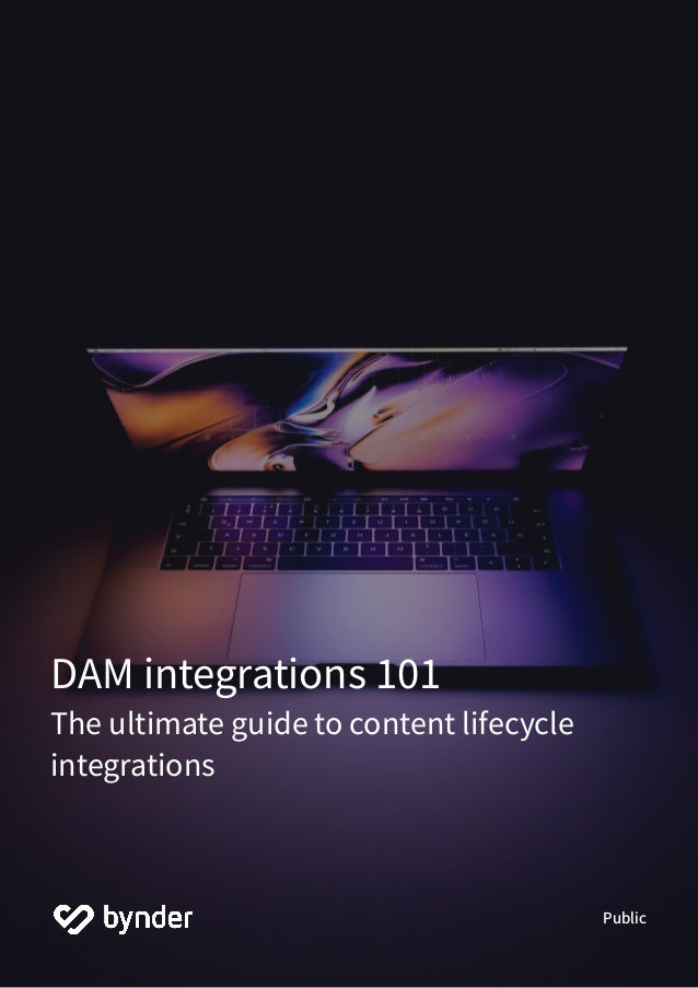 DAM integrations 101 The ultimate guide to content lifecycle integrations Public