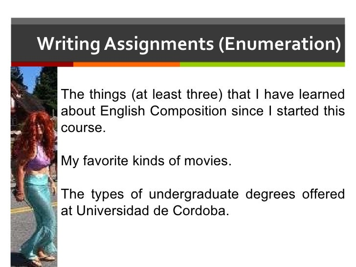 essay sentence enumeration Enumeration essay - if you need to find out how to write a superb essay, you have to learn this entrust your coursework to qualified writers employed in the service get a 100% original, plagiarism-free essay you could only think about in our paper writing assistance.