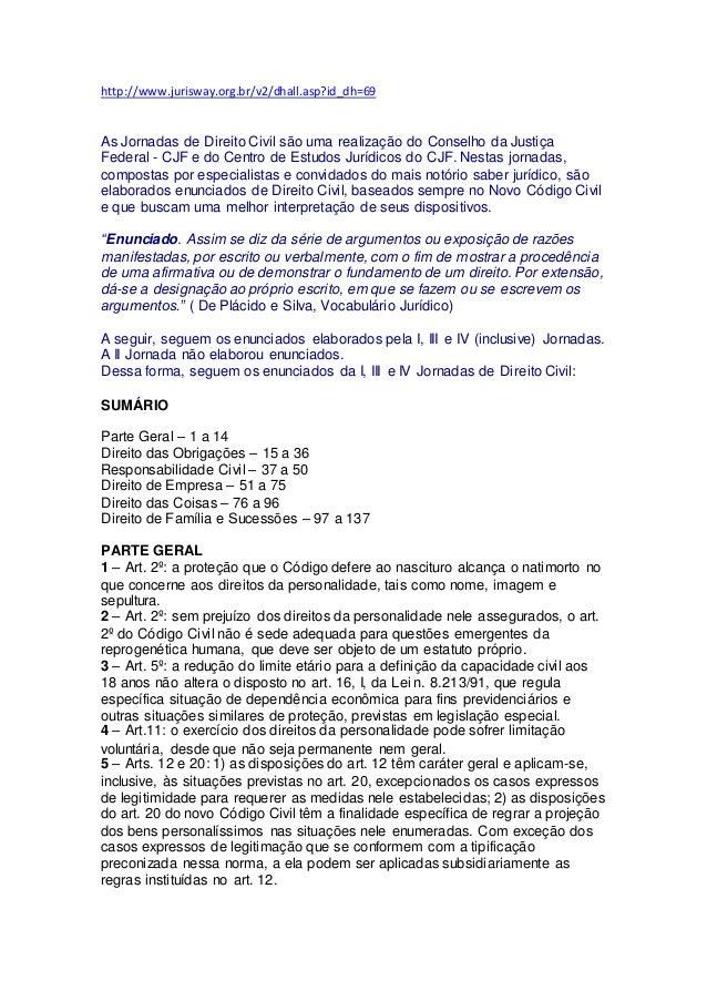 http://www.jurisway.org.br/v2/dhall.asp?id_dh=69 As Jornadas de Direito Civil são uma realização do Conselho da Justiça Fe...