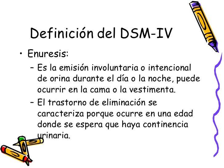 Enuresis for Definicion de gastronomia pdf