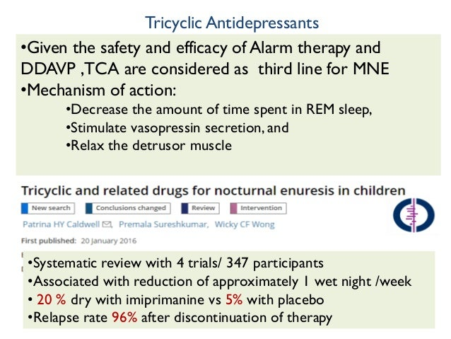 Desmopressin For Bedwetting Reviews