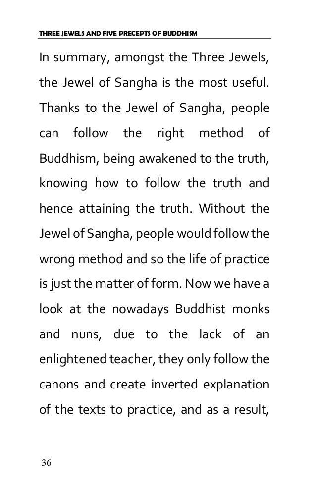 Env 01300100)-three jewels and five precepts of buddhism