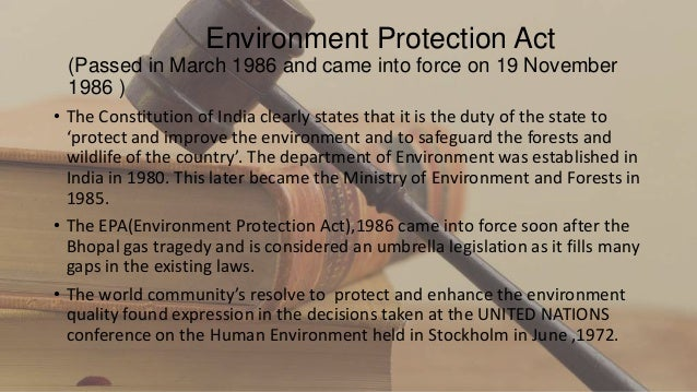 enviromental protection act Sindh on 19th march, 2014 is hereby published as an act of the legislature of  sindh the sindh environmental protection act, 2014.