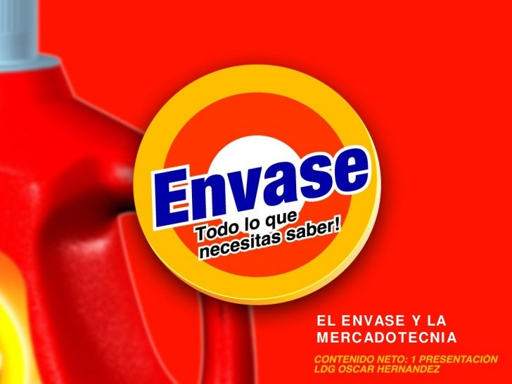 EL ENVASE Y LA MERCADOTECNIA