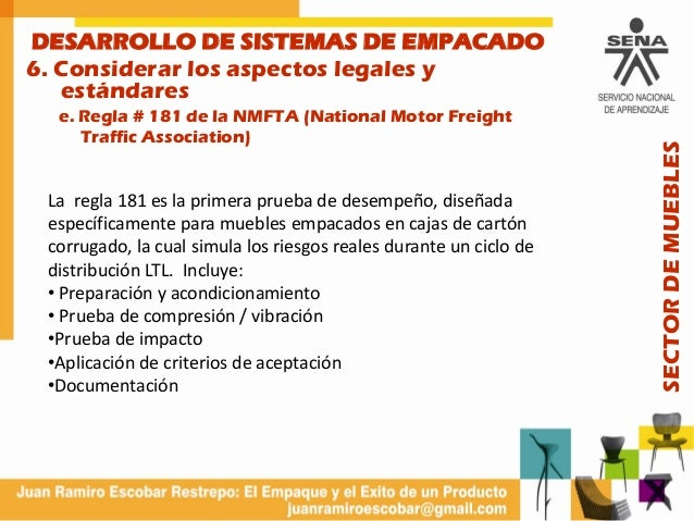 Envases exitosos 1 for National motor freight traffic association