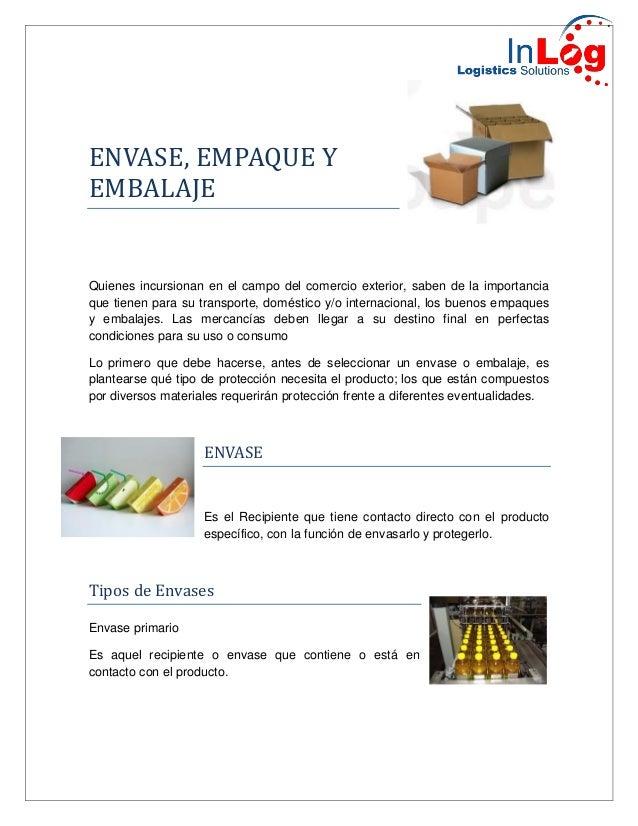 envase y embalaje - photo #12