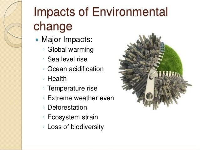 Environmental Awareness Presentation