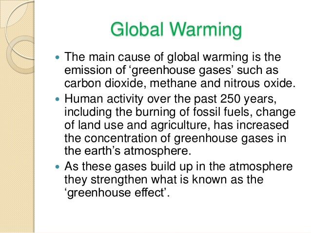conclusion global warming essay