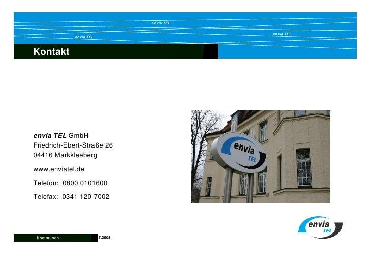envia TEL                                               envia TEL              envia TEL    Kontakt  Inhalt     envia TEL ...