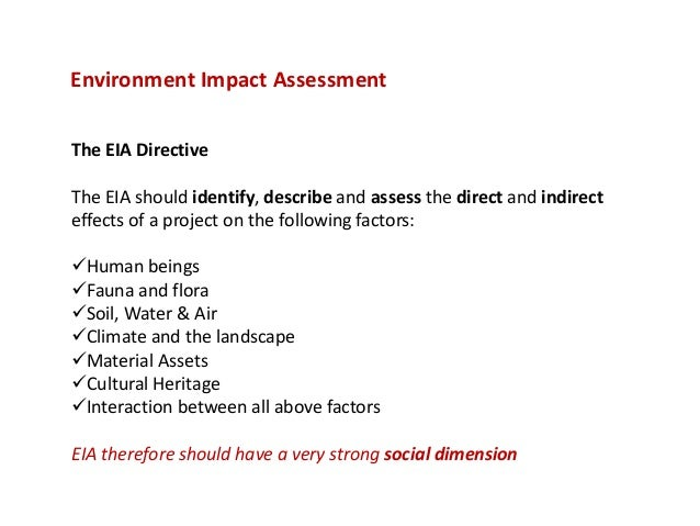 Environmental impact assessment environment impact assessmentthe pronofoot35fo Images