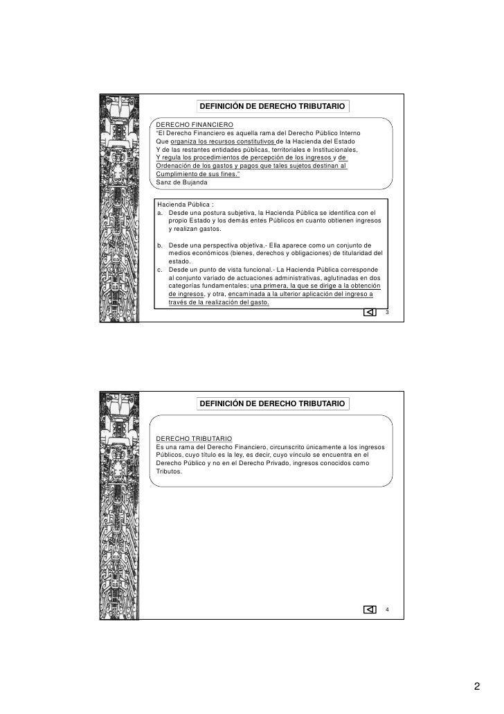"""DEFINICIÓN DE DERECHO TRIBUTARIODERECHO FINANCIERO""""El Derecho Financiero es aquella rama del Derecho Público InternoQue or..."""