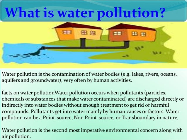 essay on pollutionwater pollution 100% free papers on pollution essay sample topics, paragraph introduction help, research & more class 1-12, high school & college .