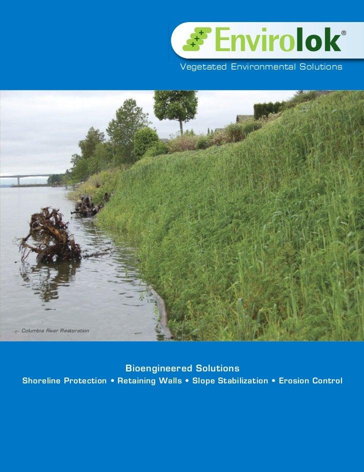 Vegetated Environmental SolutionsColumbia River Restoration                             Bioengineered SolutionsShoreline P...