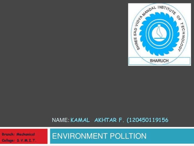 causes of environmental pollution pdf