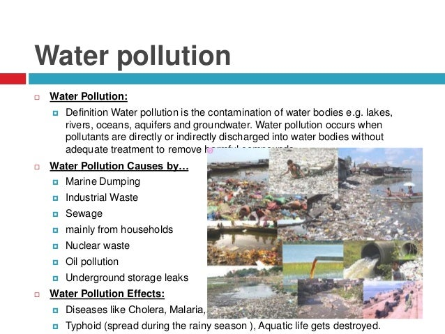 Environment & Environmental pollution, causes, effects, privents