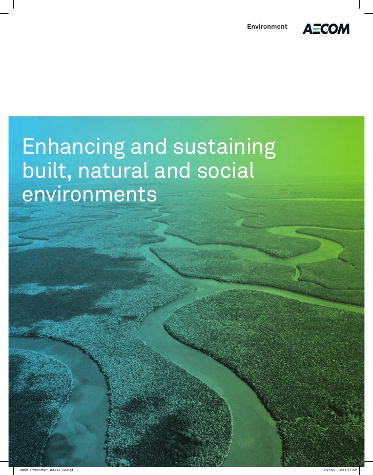 Environment     Enhancing and sustaining built, natural and social environments