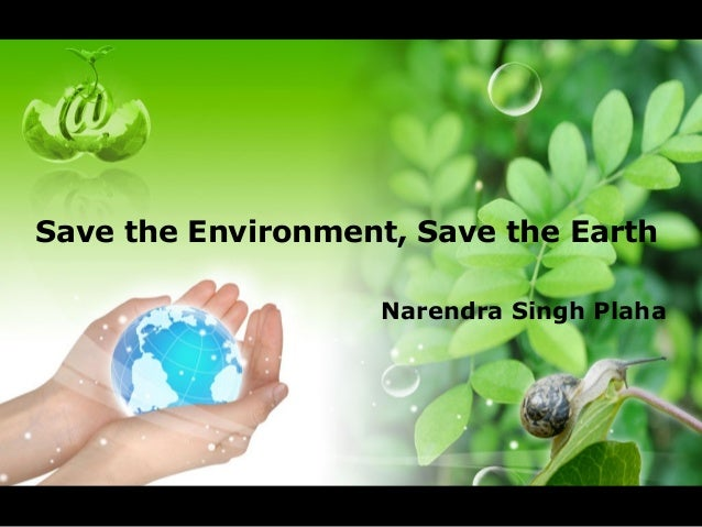 save the environment save the earth