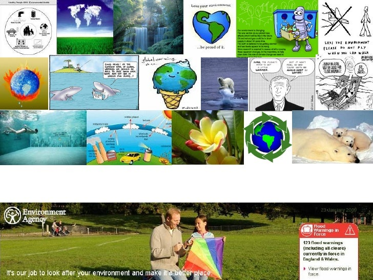 collage making ideas on environment