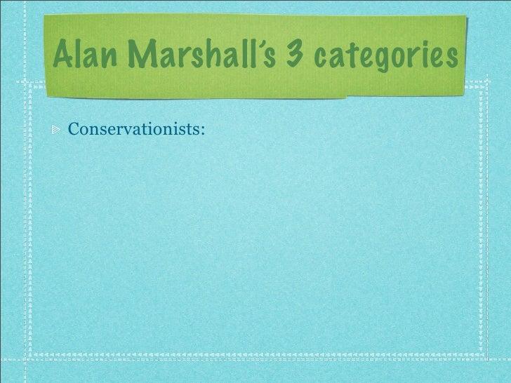 Alan marshall types of environmental ethics essays