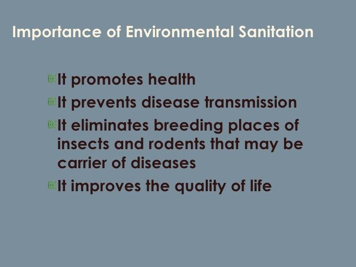 the importance of sanitizing Hand sanitizer is a liquid generally used to decrease infectious agents on the hands formulations of the alcohol-based type are preferable to hand washing with soap.