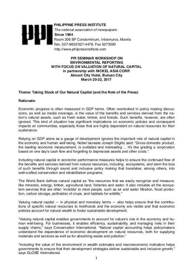 PHILIPPINE PRESS INSTITUTE The national association of newspapers Since 1964 Room 206 BF Condominium, Intramuros, Manila T...