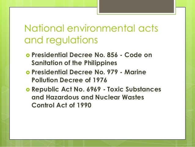philippine environment code What is a philippine environment code - answers - the most   yes.