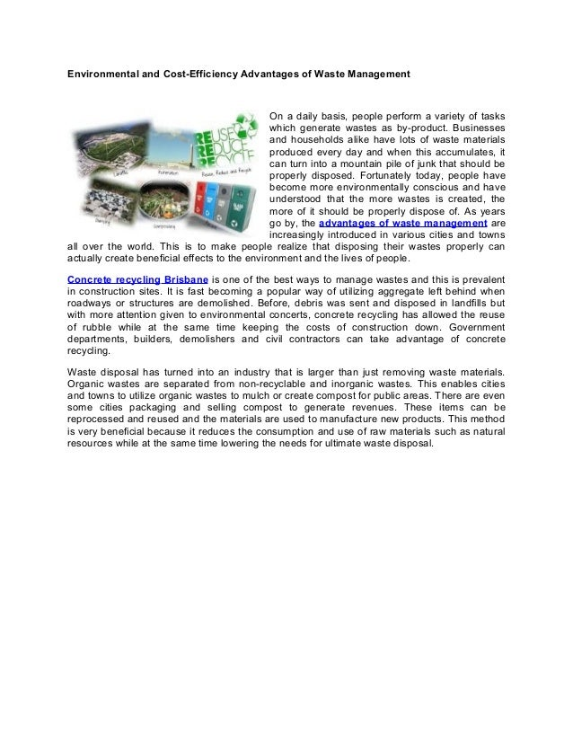advantages of environmental impact assessment pdf