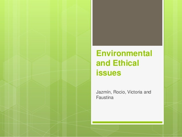environment and ethical issues in the book Environmental health ethics is an invaluable instructional text that provides a unique intersection between ethics and environmental health by an author who has mastery of both fields i cannot think of a better book that applies ethics to public health and is informed by the best literature in both fields.
