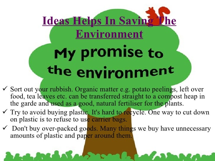 short essay about our environment