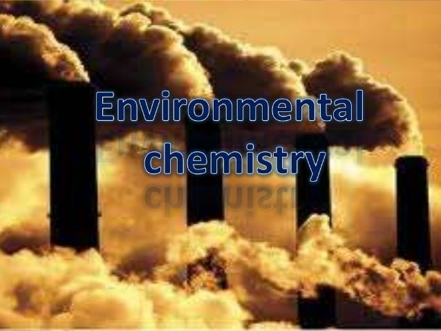 Phd research proposal environmental chemistry
