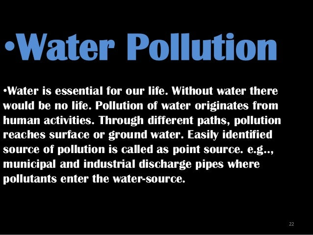 Dumping our waters essay explains vast water pollution we