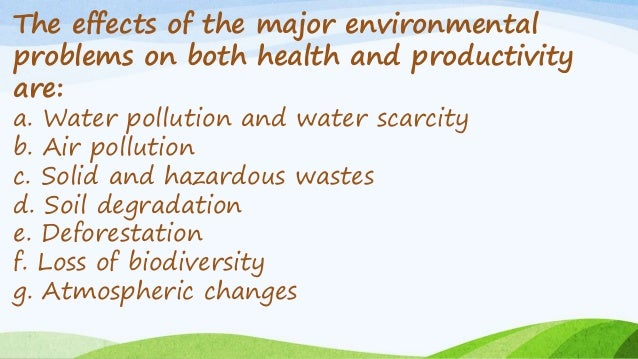 Environmental degradation ppt.