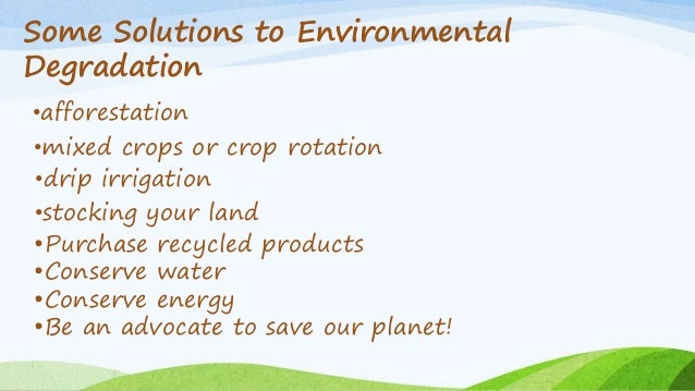 Ppt of land degradation.