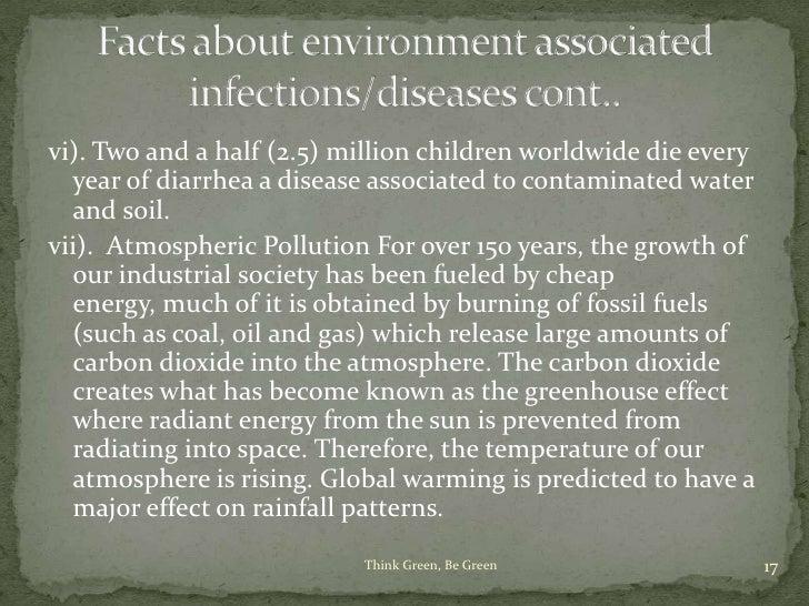 human disease environmental degradation Enteric disease impact on global health, human rights, and environmental degradation we're trading in human health and human rights, and environmental.