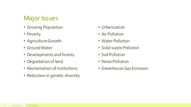 current environmental issues in india pdf