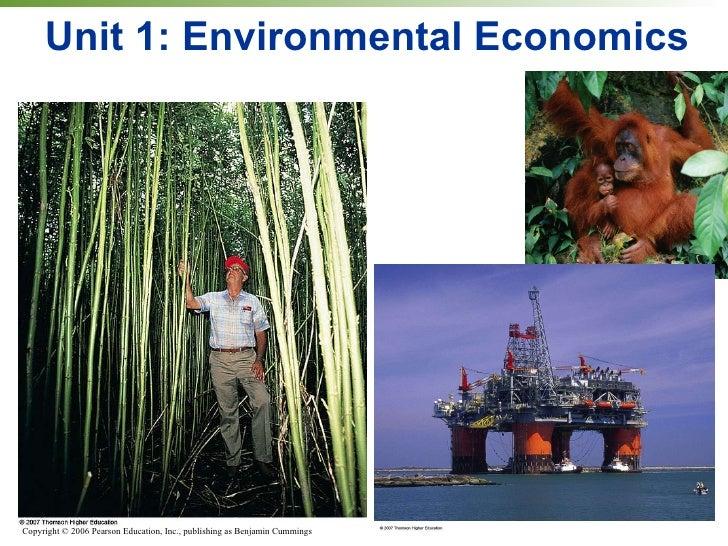 Unit 1: Environmental Economics