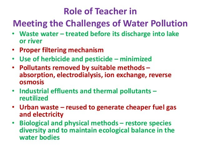 teaching methods of environmental education