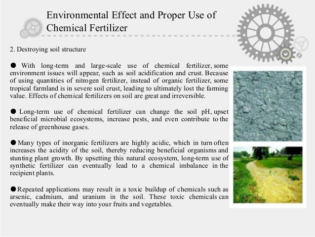an overview of the effects of chemical fertilizers on the environment Recent environmental studies have assessed the introduction of potentially   effects of inorganic fertilizer and manure on soil archaeal.