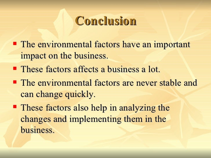 environmental factors in business South africa business etiquette introduction south africa is a unique country at the southern tip of africa, with its incredible diversity according to kwint.