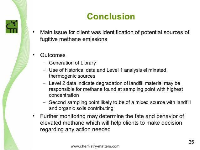 conclusion forensic chemistry