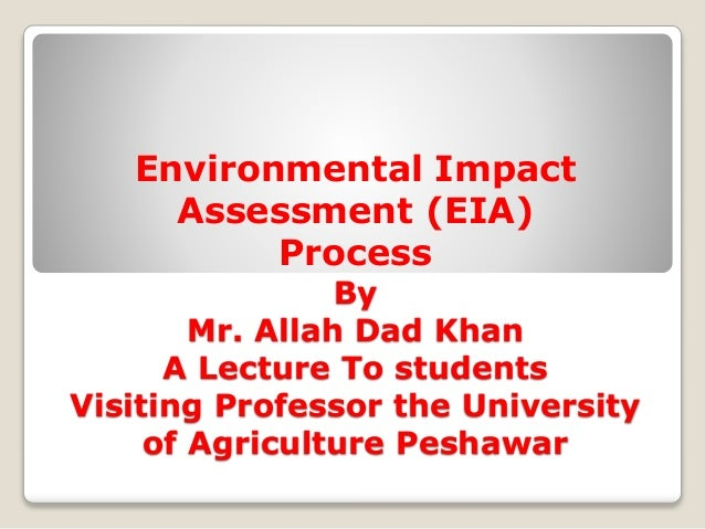 Note of Environmental Impact Assessment