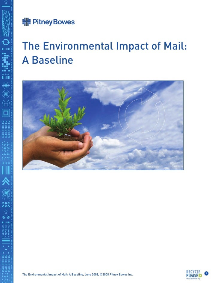 The Environmental Impact of Mail: A Baseline                                                                              ...